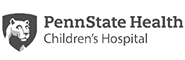 Penn State Health Children's Hospital, with Penn State Nittany Lion logo