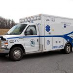 One of Penn State Health's Life Lion ambulances