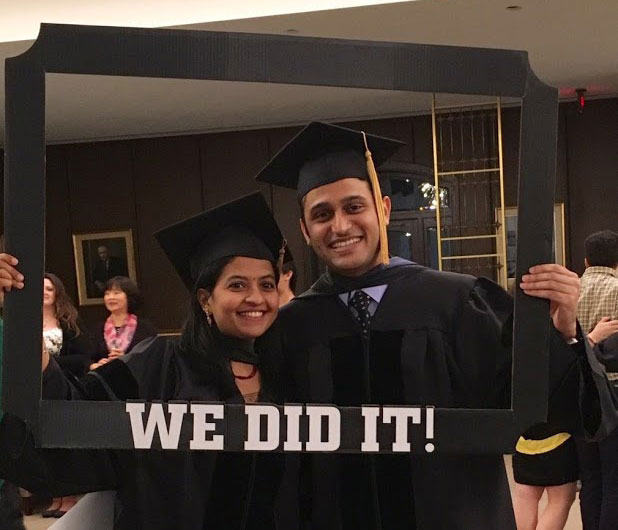 Husband And Wife Team Exemplify Graduate Education At College Of