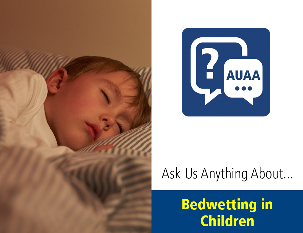 Ask Us Anything About Bedwetting in Children