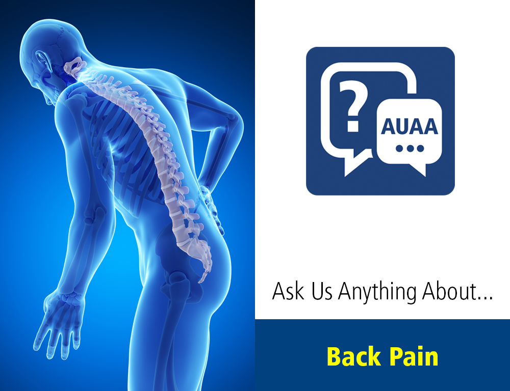 Ask Us Anything About... Back Pain