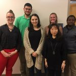 The Penn State Health Global Health team, four women and two men, pose for a photo.