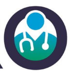"The HERO Healthcare Worker Exposure Response & Outcomes logo has a graphic of a doctor with a stethoscope in the ""O"" of the word ""HERO."""