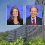 Head and shoulders professional portraits of Patricia McLaughlin, Ian Zagon and Dr. Joseph Sassani