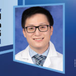 """Image shows a portrait of Dr. Forest Lai next to the words """"Our students present Exceptional Moments in Teaching Residents/Fellows."""""""